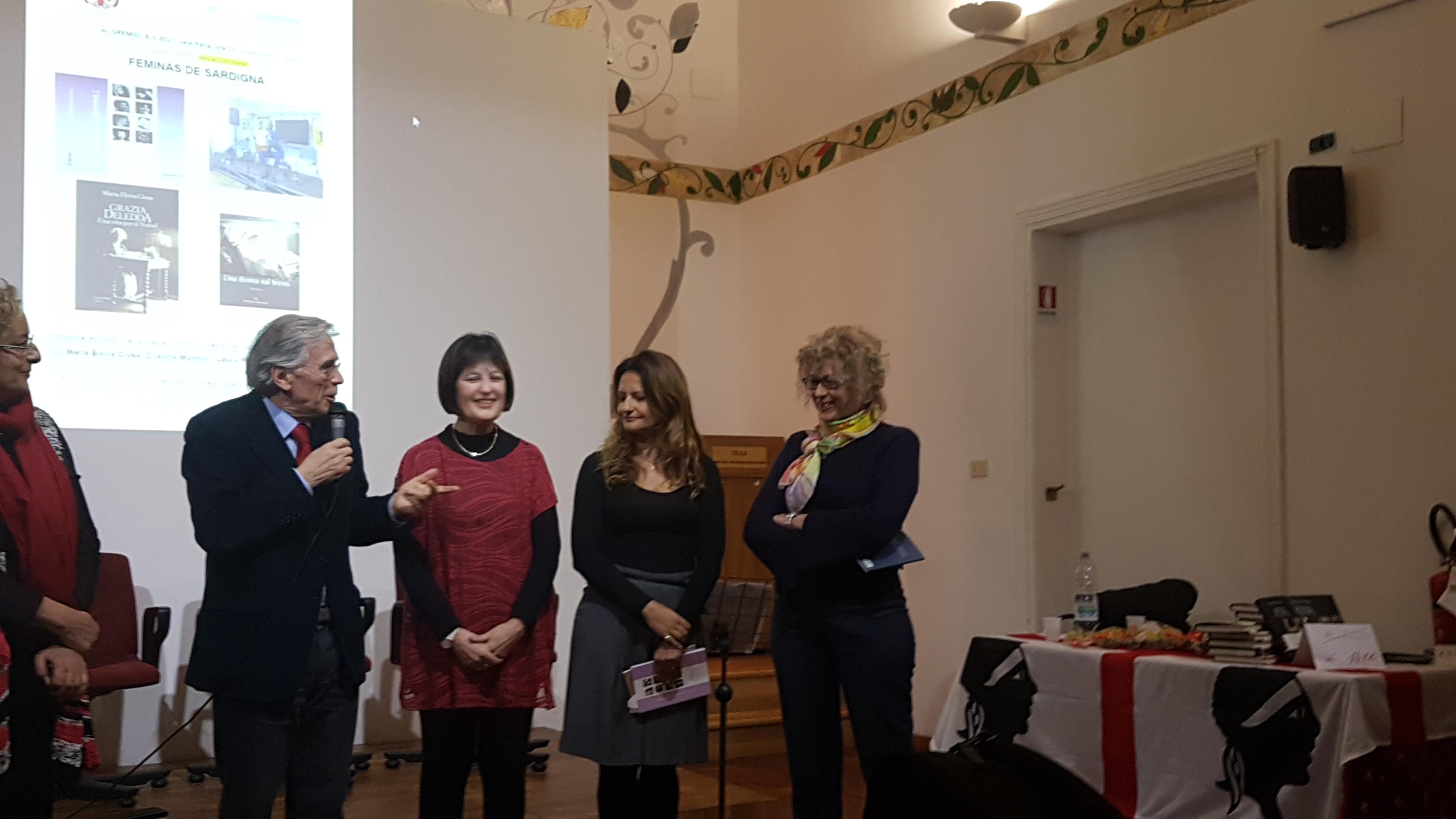 Cristina Muntoni • Presentazione di Sardegna al Femminile ...