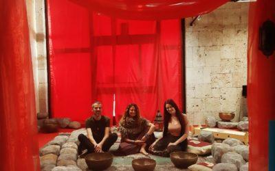 La Tenda Rossa e lo spazio sacro per i riti iniziatici femminili