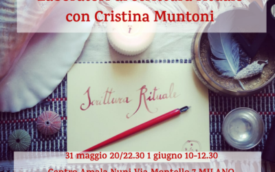 Laboratori di scrittura rituale a Milano