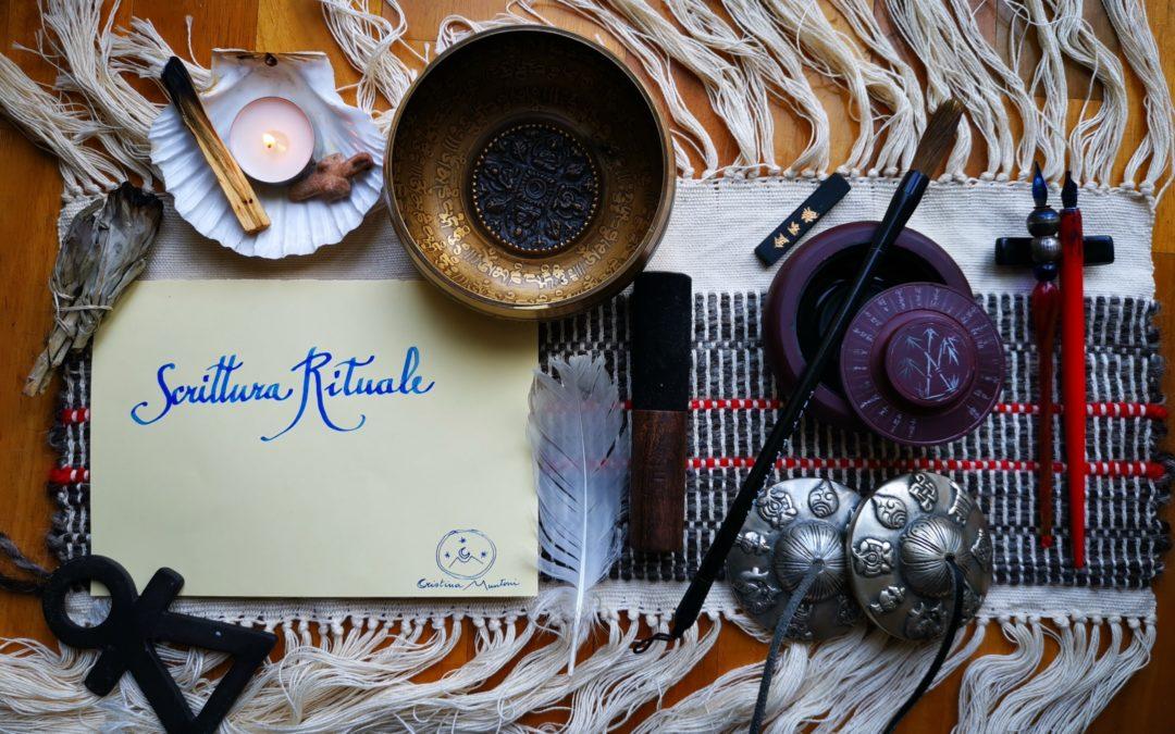 La scrittura rituale