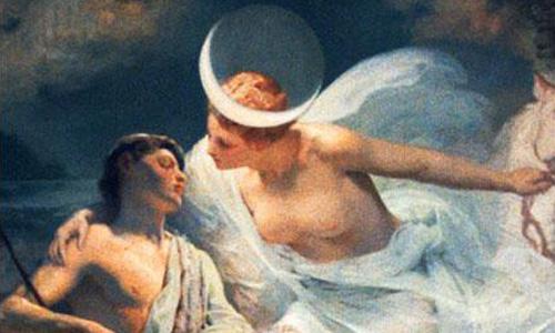 La Dea Selene e il simbolismo delle tre notti di Luna nera