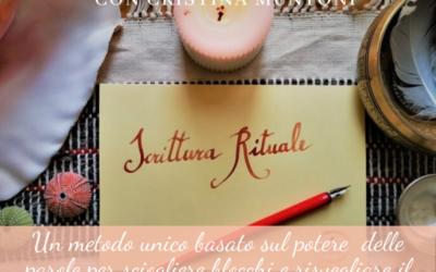 Incontri individuali di scrittura rituale
