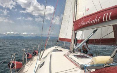 Scrittura rituale in barca a vela. Tutte le date