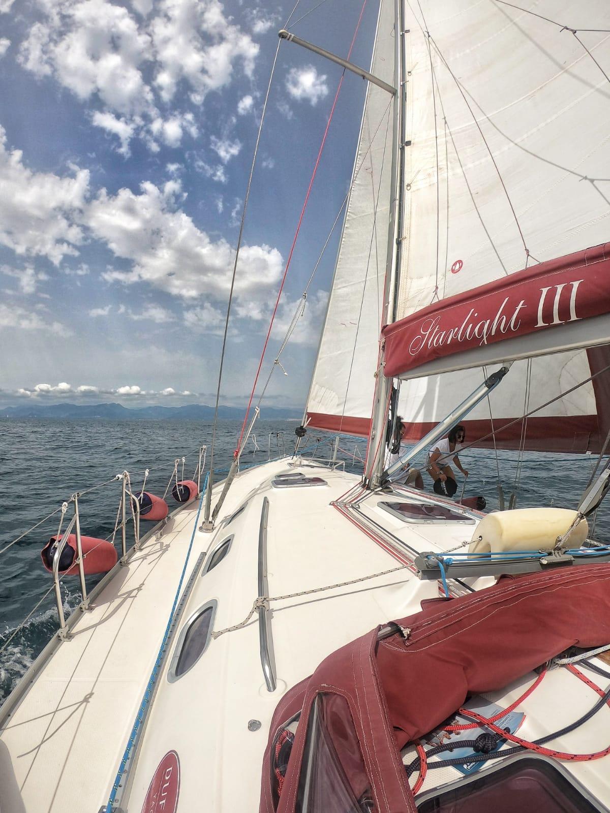 Cristina Muntoni • Cena al tramonto in barca a vela e ...