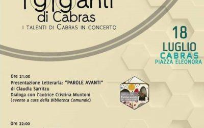 Claudia Sarritzu e Cristina Muntoni alla rassegna I Giganti di Cabras